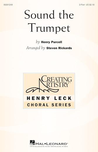 Sound the Trumpet : 2-Part : Steven Rickards : Henry Purcell : Sheet Music : 00261249 : 888680727376