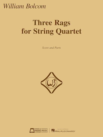Product Cover for Three Rags for String Quartet
