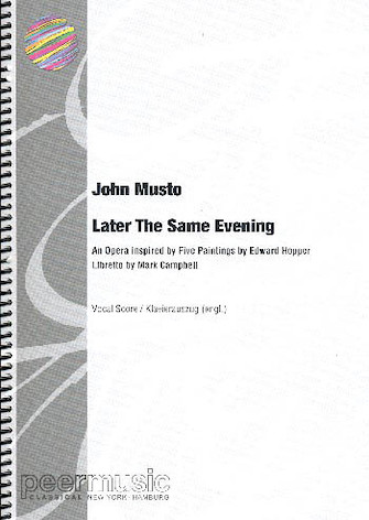 Product Cover for Later the Same Evening - Study Score