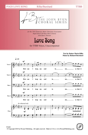 Product Cover for Love Song