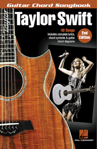 Product Cover for Taylor Swift – Guitar Chord Songbook – 2nd Edition