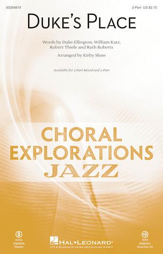Duke's Place : 2-Part : Kirby Shaw : Duke Ellington : Sheet Music : 00264819 : 888680731168