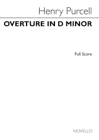 Product Cover for Overture in D Minor