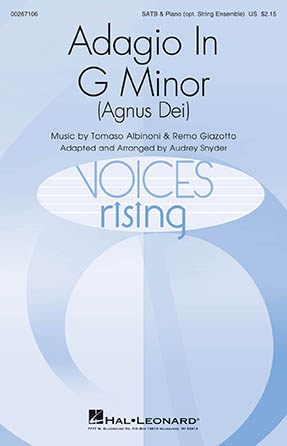 Product Cover for Adagio in G Minor (Agnus Dei)