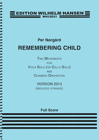 Product Cover for Remembering Child (Version 2013)