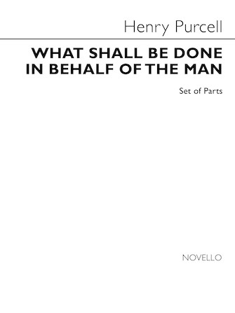 Product Cover for What Shall Be Done in Behalf of the Man