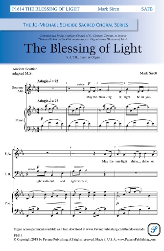 Product Cover for The Blessing of Light