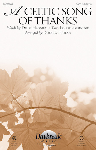 A Celtic Song of Thanks : SATB : Douglas Nolan : Sheet Music : 00269083 : 888680737290