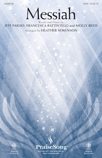 Messiah : SATB : Heather Sorenson : Molly Reed : Francesca Battistelli : Sheet Music : 00269138 : 888680737559