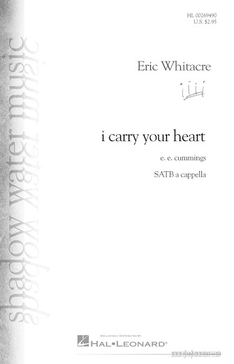 Product Cover for i carry your heart