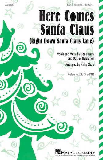 Product Cover for Here Comes Santa Claus