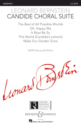 Product Cover for Candide Choral Suite