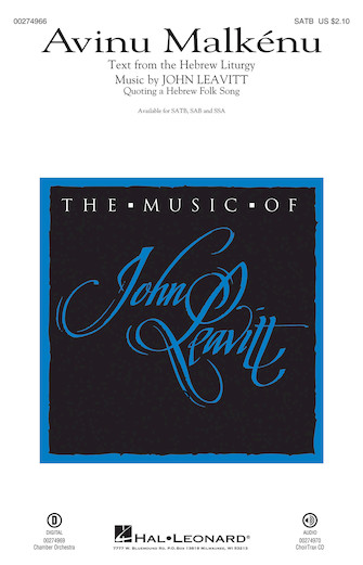 : SATB : John Leavitt : Sheet Music : 00274966 : 888680741228