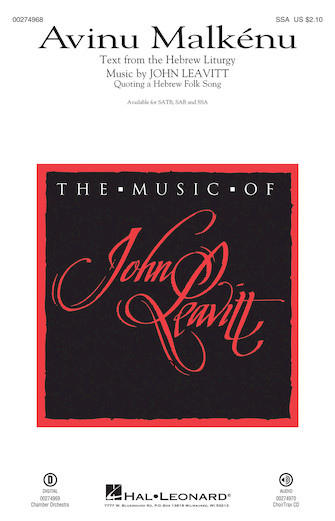 : SSA : John Leavitt : Sheet Music : 00274968 : 888680741242