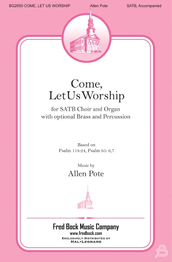 Product Cover for Come, Let Us Worship