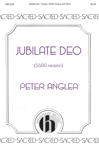 Product Cover for Jubilate Deo