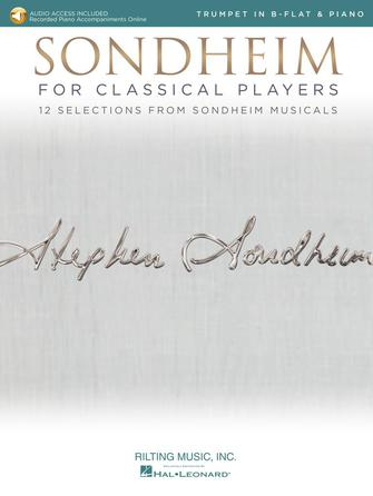 Product Cover for Sondheim for Classical Players