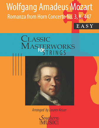Product Cover for Romanza from Horn Concerto No. 3, K447 for String Orchestra