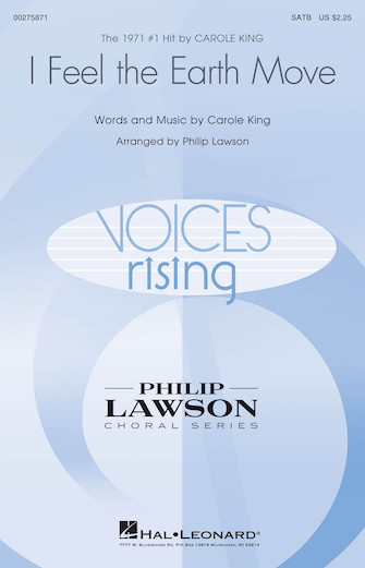 I Feel the Earth Move : SATB : Philip Lawson : Carole King : Carole King : Sheet Music : 00275871 : 888680744984
