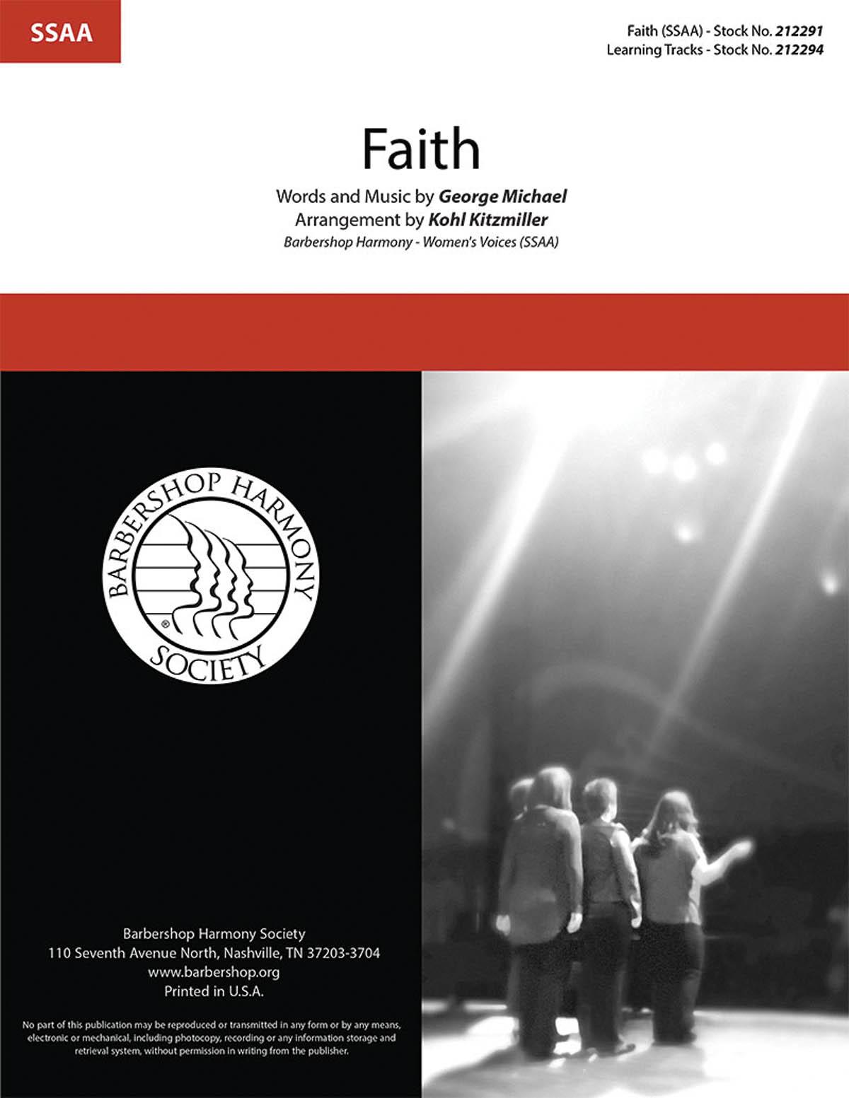 Faith : SSAA : Kohl Kitzmiller : George Michael : Sheet Music : 00276677