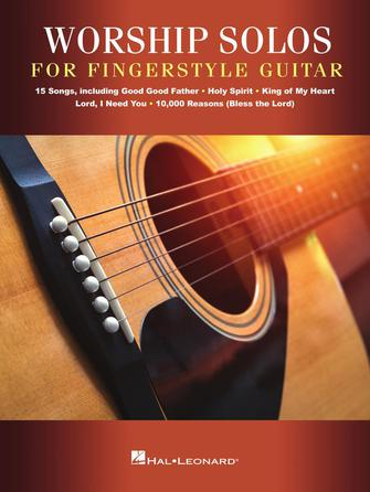 Product Cover for Worship Solos for Fingerstyle Guitar