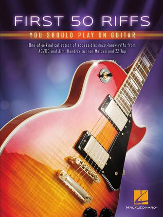 Product Cover for First 50 Riffs You Should Play on Guitar