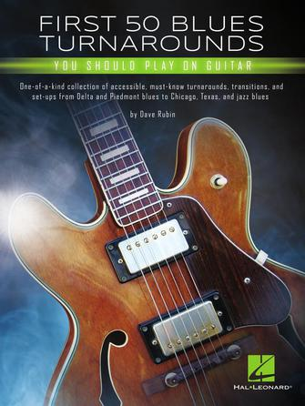 Product Cover for First 50 Blues Turnarounds You Should Play on Guitar