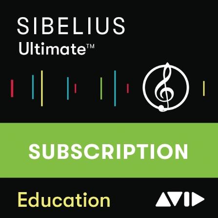 Sibelius ¦ Ultimate – 1-Year Subscription