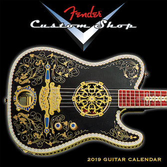 Product Cover for 2019 Fender Custom Shop Mini Wall Calendar