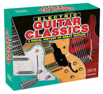 Product Cover for 2019 Electric Guitar Classics Daily Desk Calendar