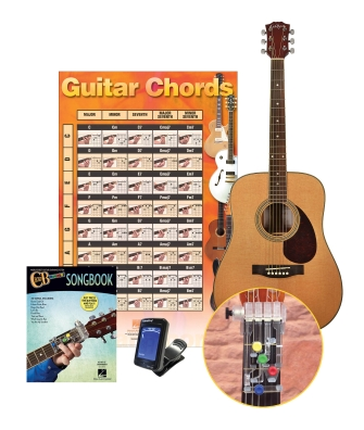 Product Cover for ChordBuddy Learning System with Acoustic Guitar