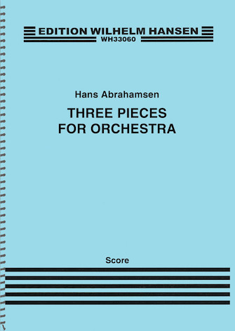 Product Cover for Three Pieces for Orchestra
