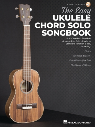 The Easy Ukulele Chord Solo Songbook