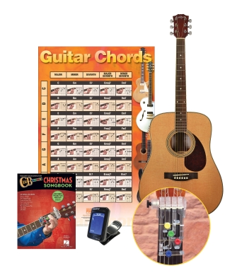 Product Cover for Chordbuddy Holiday Learning Pack with Acoustic Guitar