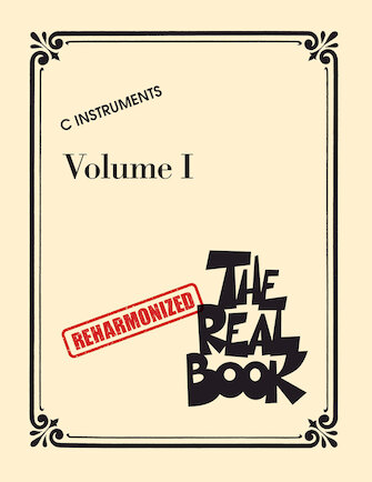 Product Cover for The Reharmonized Real Book – Volume 1: C Instruments