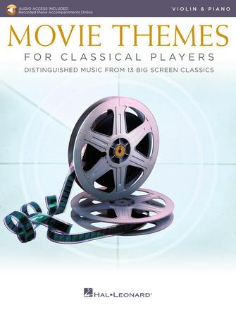 Product Cover for Movie Themes for Classical Players – Violin and Piano