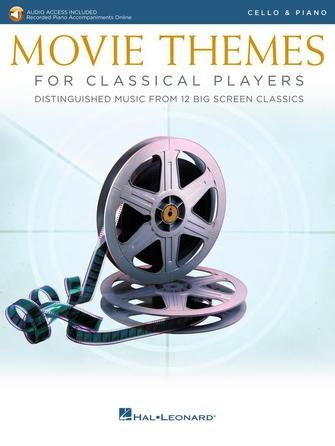 Product Cover for Movie Themes for Classical Players – Cello and Piano