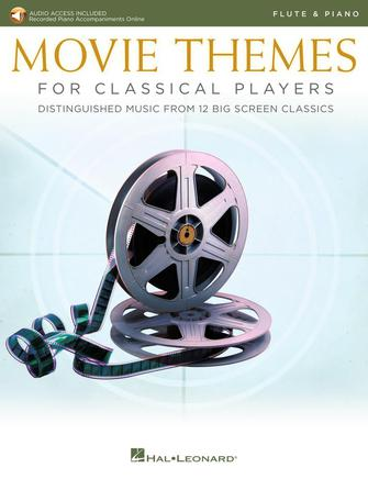 Product Cover for Movie Themes for Classical Players – Flute and Piano