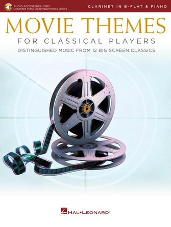 Product Cover for Movie Themes for Classical Players – Clarinet and Piano