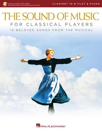 Product Cover for The Sound of Music for Classical Players – Clarinet and Piano