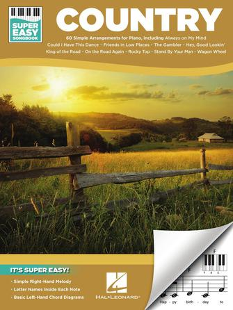 Product Cover for Country – Super Easy Songbook