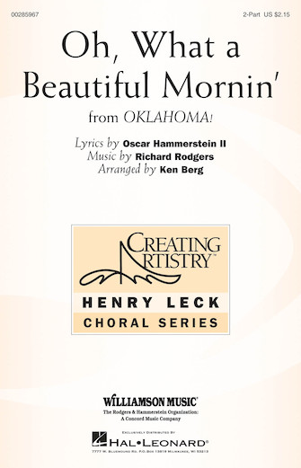 Product Cover for Oh, What A Beautiful Mornin'