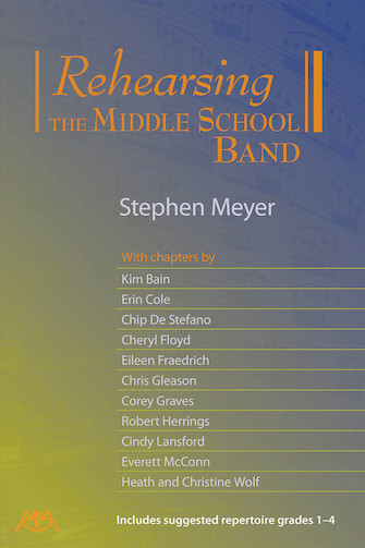 Product Cover for Rehearsing the Middle School Band