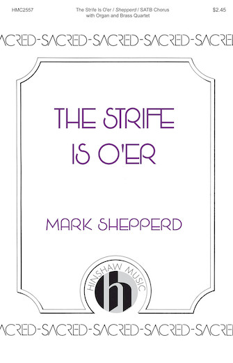 Product Cover for The Strife Is O'er