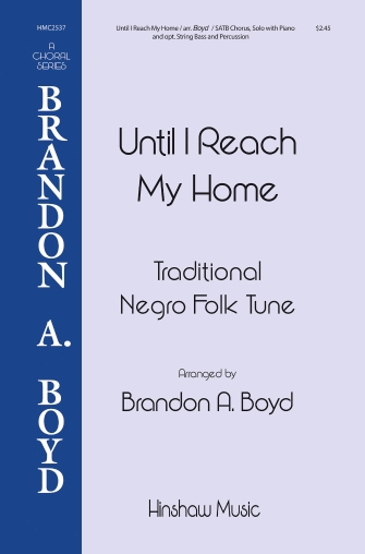 Product Cover for Until I Reach My Home