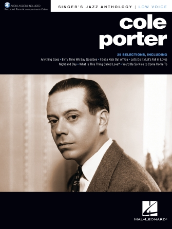 Cole Porter - Singer's Jazz Anthology Low Voice
