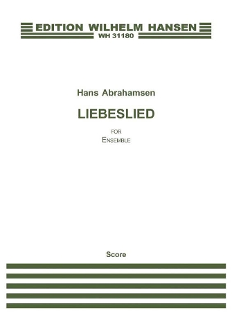 Product Cover for Liebeslied
