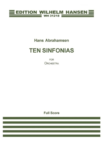 Product Cover for Ten Sinfonias