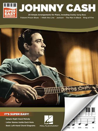 Product Cover for Johnny Cash – Super Easy Songbook