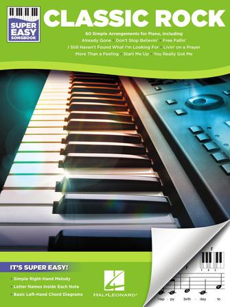 Product Cover for Classic Rock – Super Easy Songbook